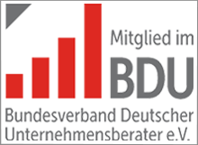 Unternehmensberatung mit Sitz in Hamburg und Kiel und Fokus auf Sanierung, Strategie und Projektmanagement ist Mitglied im BDU.