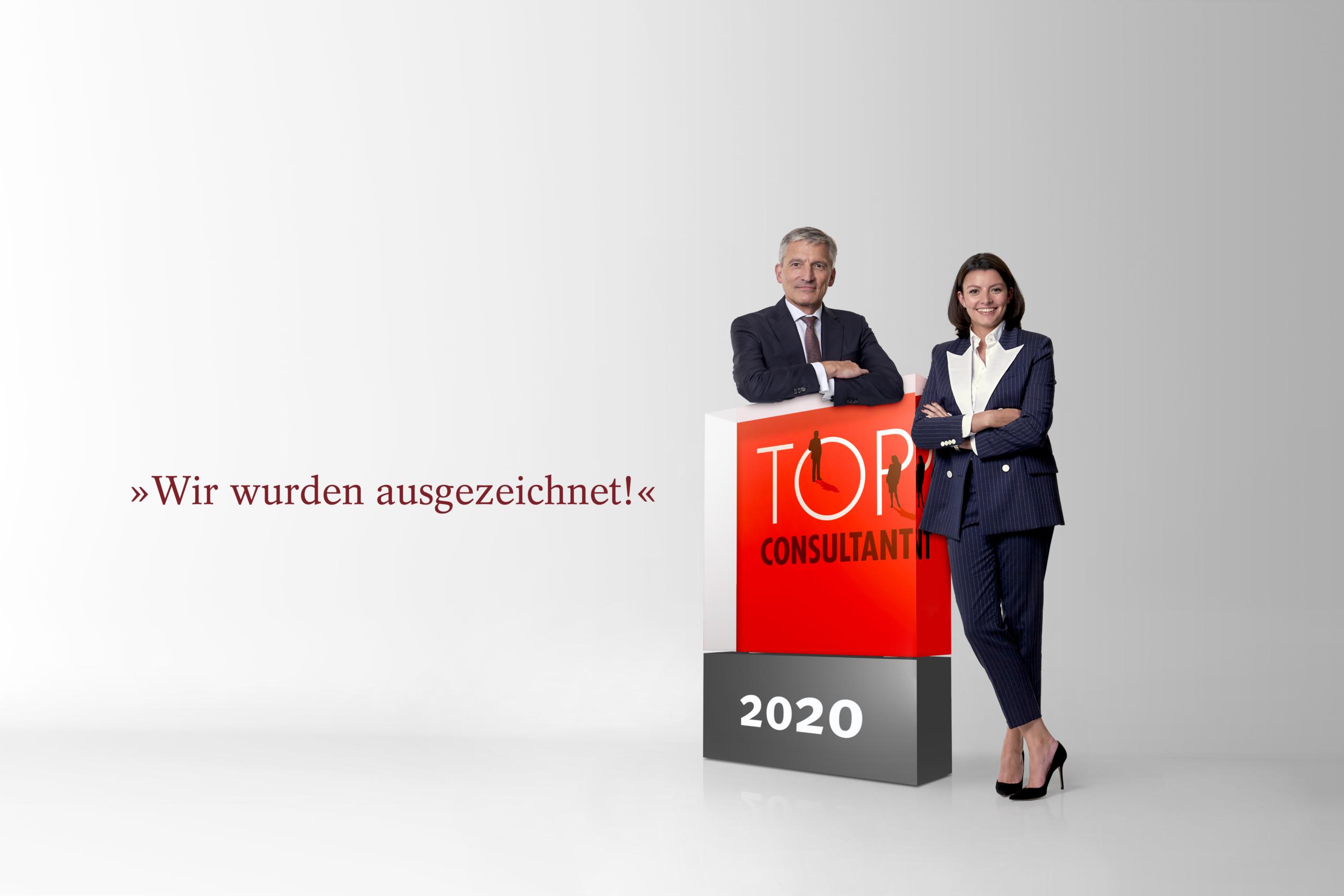 Unternehmensberatung in Hamburg als Top Consultant 2020 ausgezeichnet.